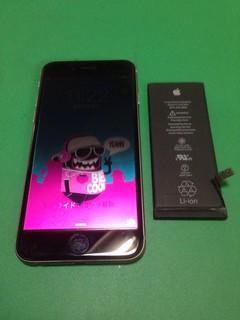 175_iPhone6のバッテリー交換