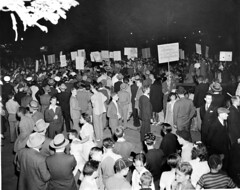 Thousands rally for       Capital Transit Jobs: 1943 (Photo 17)