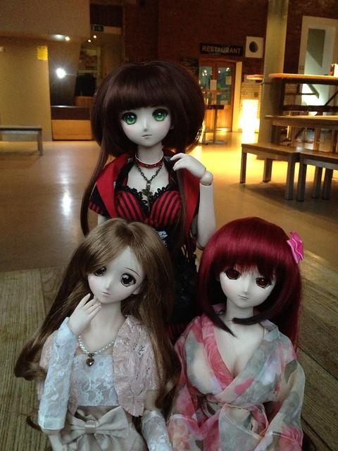 Sid, Yukino & Tamaki