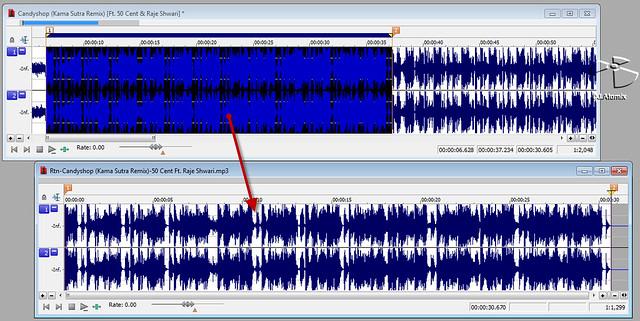 ตัดเพลงด้วยโปรแกรม SoundForge