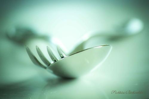 Cutlery by Siobhan Bickerdike