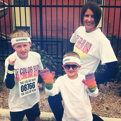 Super excited! #colorrun #lawrence