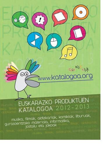 Euskarazko produktuen katalogoa 2012-2013