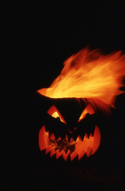 Day 284/365 - Hell Pumpkin