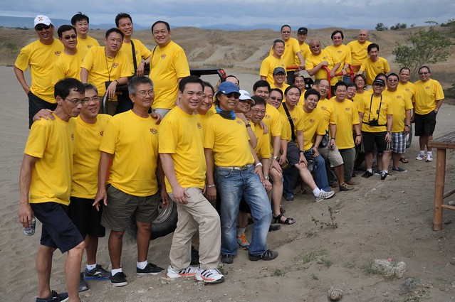 Xavier School Batch '77 at the Laoag La Paz Sand Dunes