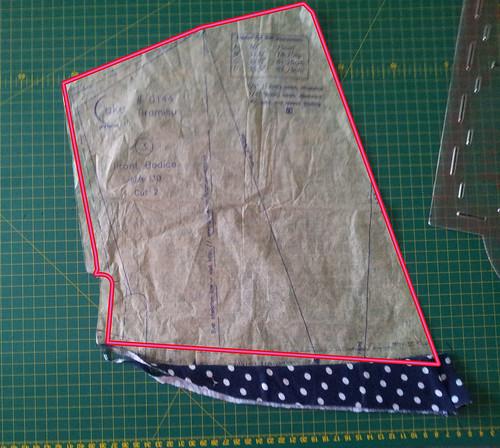 Tiramisu bodice adjust attempt 2 (this one worked)