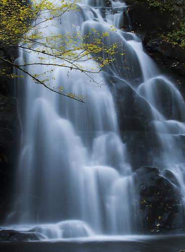Spruce Flats Falls by Bernie Kasper