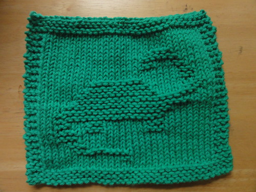 Brachiosaurus Dishcloth