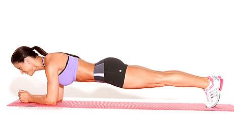 Plancha - Entrenamiento del core para corredores
