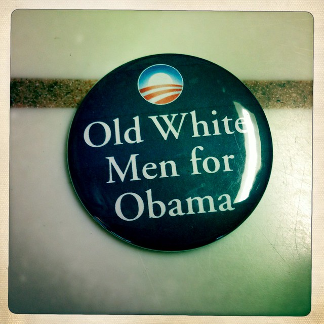 Old White Men For Obama