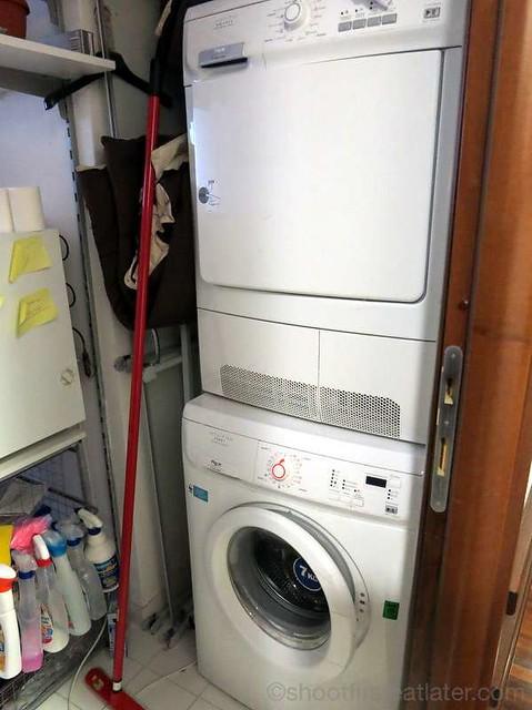 B&B San Pietro Alle Fornaci- washing machine & dryer