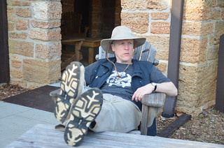 Alan Relaxing