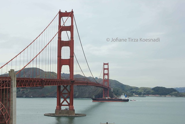 SF - golden gate bridge - south vista point - 2