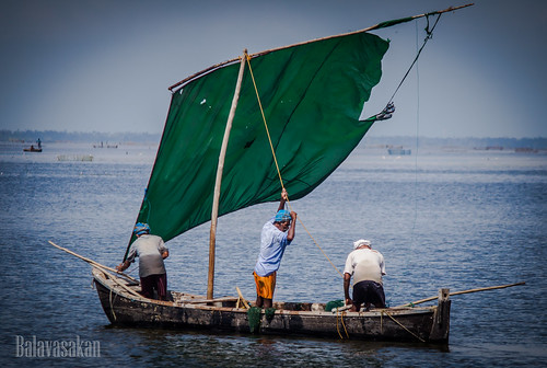 Preparing for fishing by Balavasakan