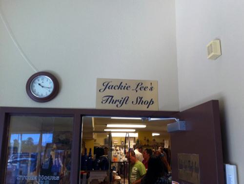 Jackie Lee Thrift Shop