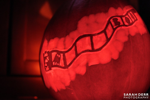 Illuminated Pumpkin Design