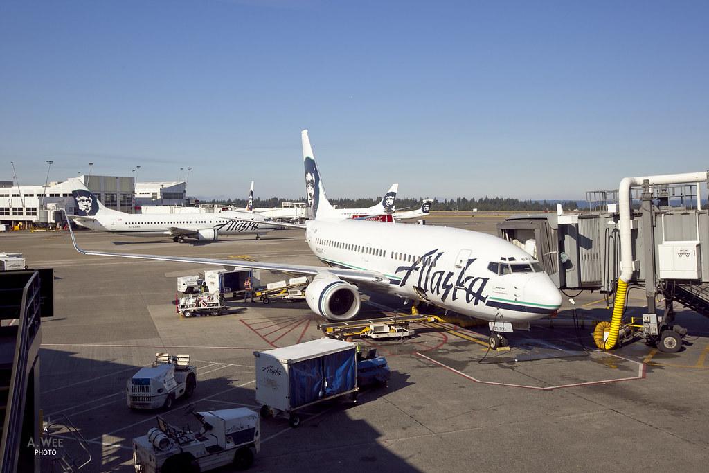 Alaska Airline 737