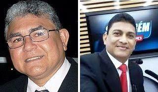 Clenildo Vasconcelos e Carlos Silva: fora da TV