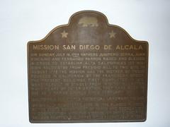 P1170177 California Historical Landmark No. 242: Mission San Diego de Alcala by jawajames