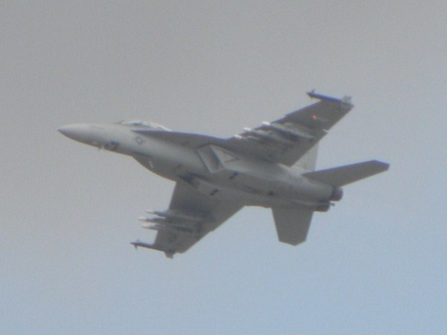 A USAF Fighter at the 2010 Farnborough air show