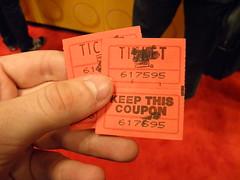 NYCC Landspeeder Tin tickets