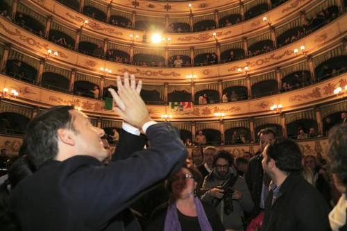 Matteo Renzi a Cesena