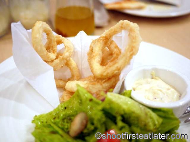 Calamari Fritti w: Aioli Sauce P365