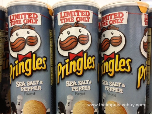 Pringles Limited Time Only Sea Salt & Pepper
