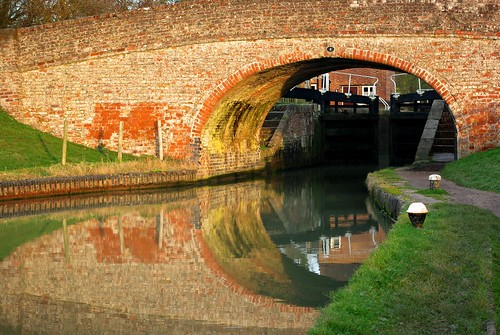 20130113-27_Bridge Reflections - Grand Union Canal - Braunston by gary.hadden