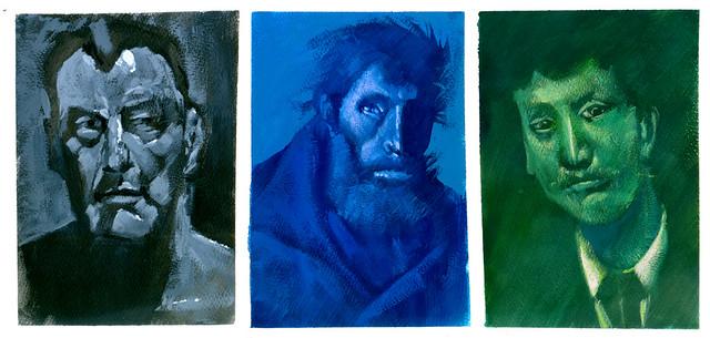 Estudos de pintura (releituras)