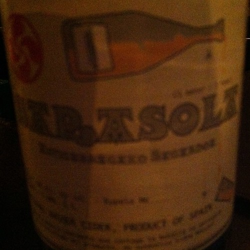 Super strange, but good, hard cider from Spain.