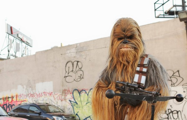 Chewbacca NYCC 2012