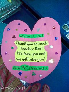 Preschool As Farewell Card