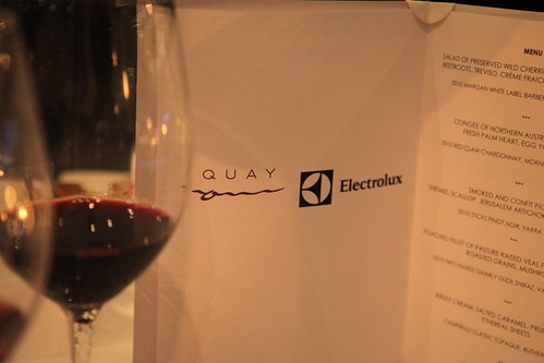 Quay & Electrolux masterclass