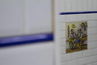 Detalles de azulejos