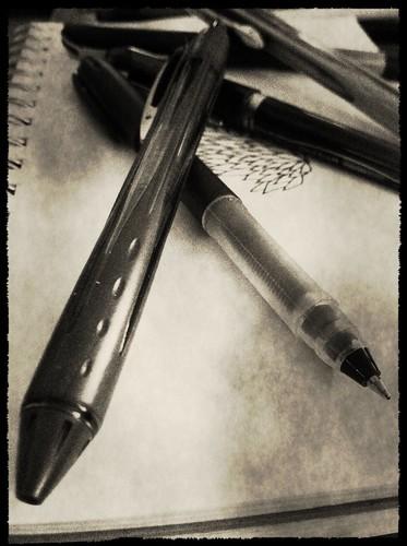 Pens & paper