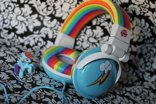 31/365 My Little headphones...