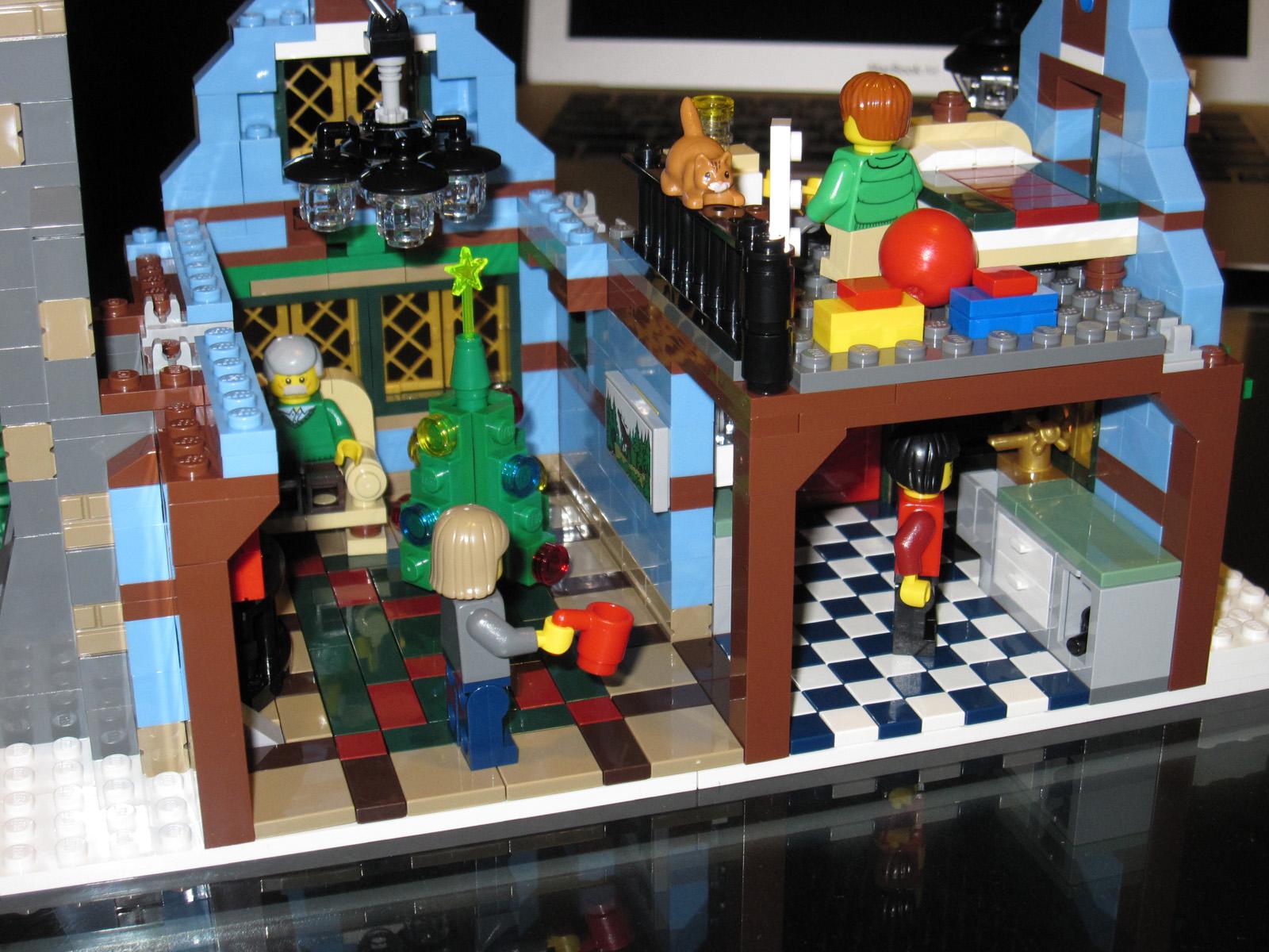 Lego Winter Village  10229 Cottage  The Winter Cottage