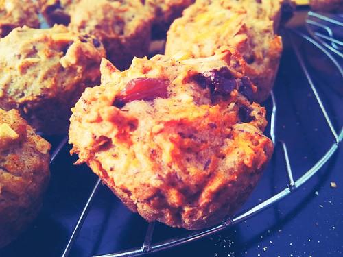 Gluten-Free Carrot Cake Muffinsq