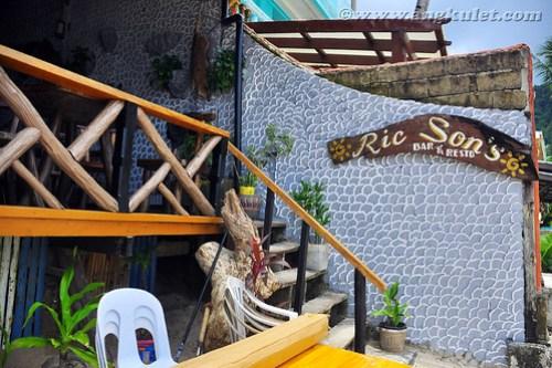 Ric Sons Bar & Restaurant, El Nido, Palawan