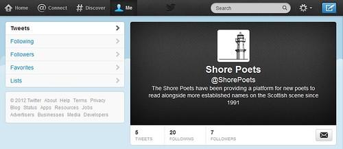Shore Poets on Twitter!