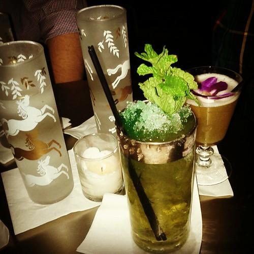 Tooker Alley cocktails