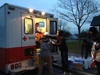 Sandy: Red Cross Relief