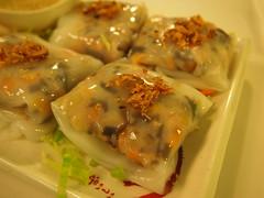 """Detail: Vietnamese steamed rice rolls """"Cheung fun"""""""