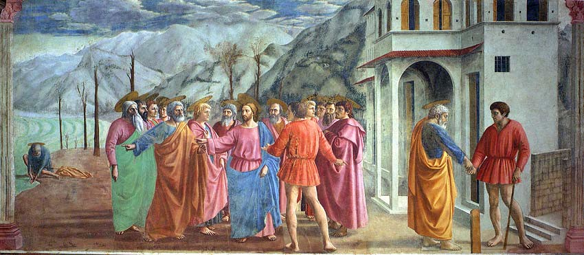 tribute money masaccio