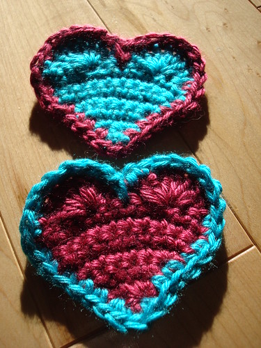 Stripey Hearts!