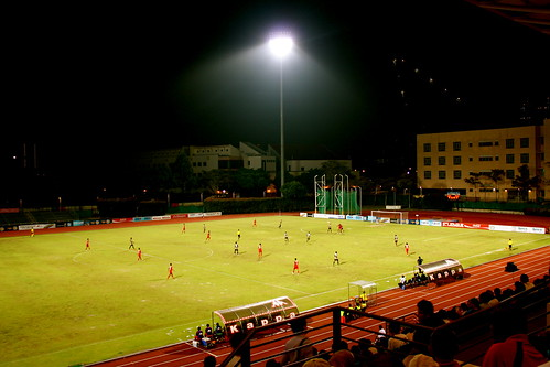 Tanjong Pagar FC vs. Home Team at Bishan Stadium
