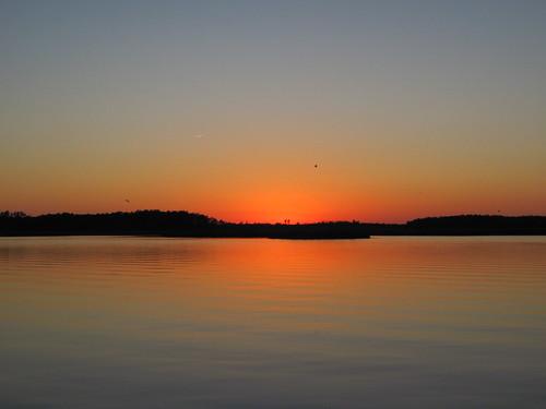 Sunset Pungo River