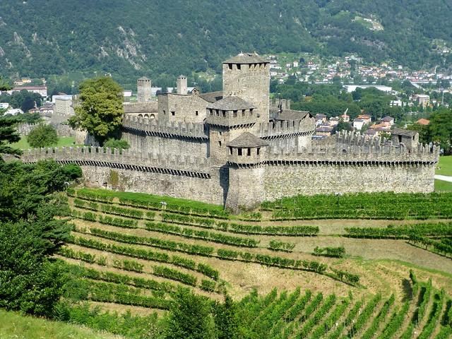Castello di Montebello, Bellinzona,  Switzerland  (UNESCO WHS)