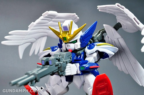 SDGO Wing Gundam Zero Endless Waltz Toy Figure Unboxing Review (33)
